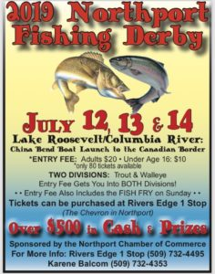 2019 Northport Walleye Fishing Derby @ Northport City Park